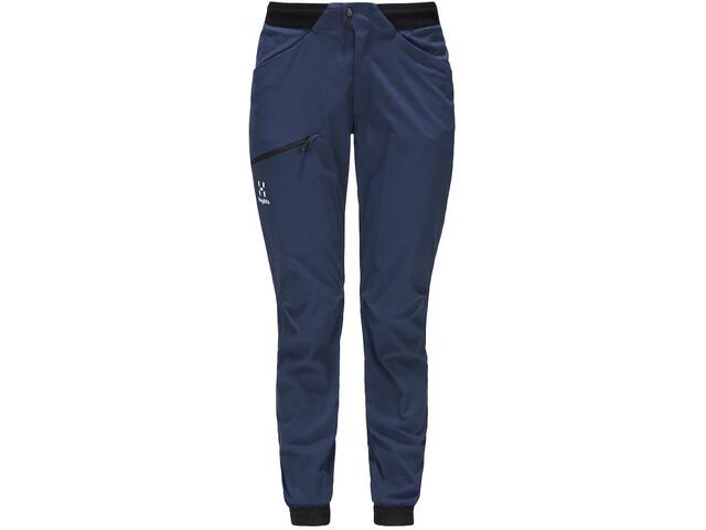 Haglöfs L.I.M Fuse Pantaloni Donna, tarn blue